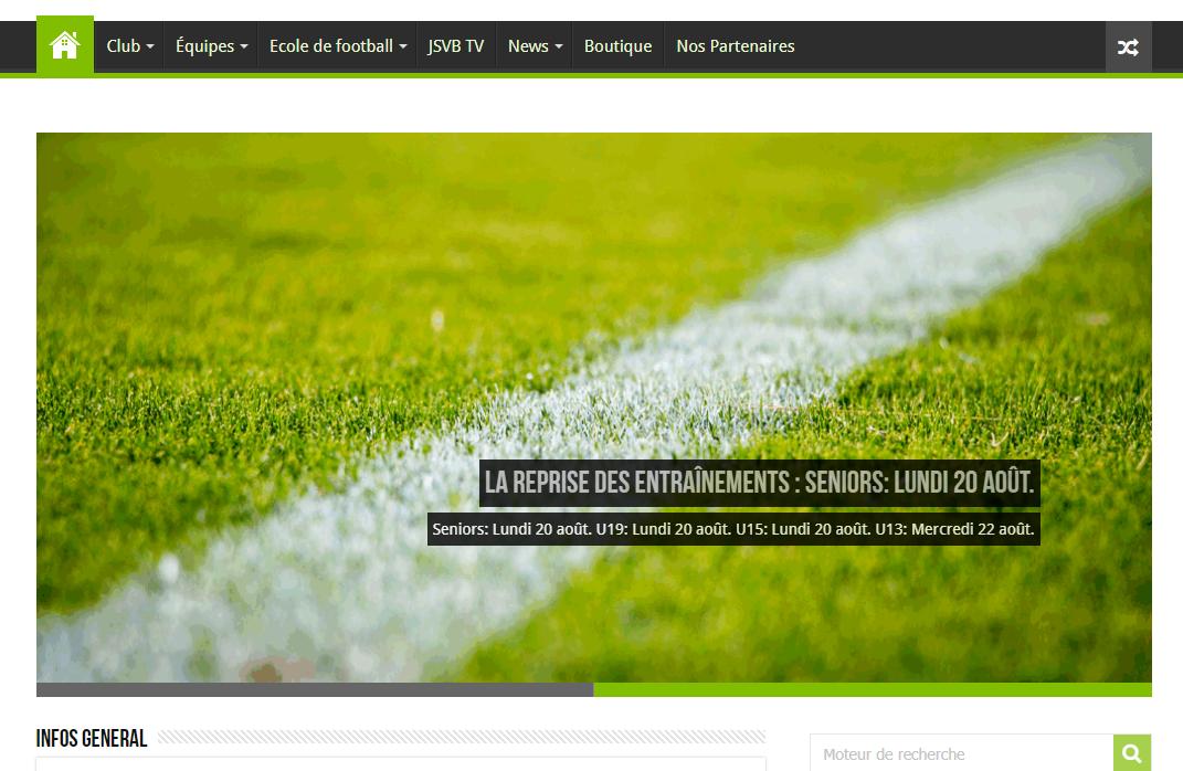 Un nouveau site web avec plus d'informations