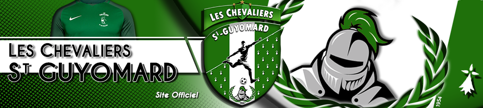 LES CHEVALIERS ST-GUYOMARD : site officiel du club de foot de ST GUYOMARD - footeo