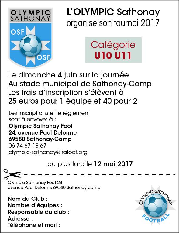 Tournoi 2017 - U11