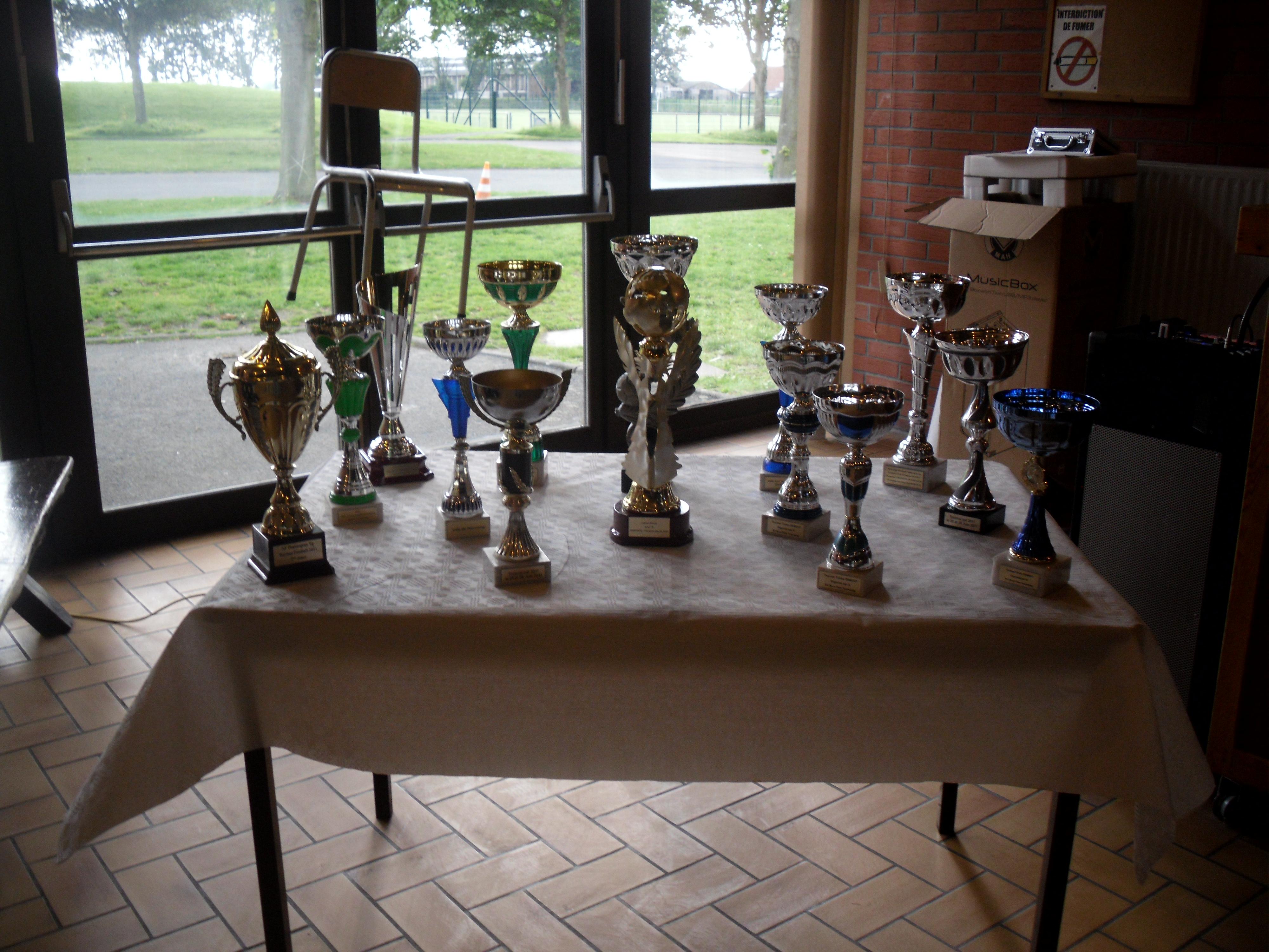 trophées 2011/2012