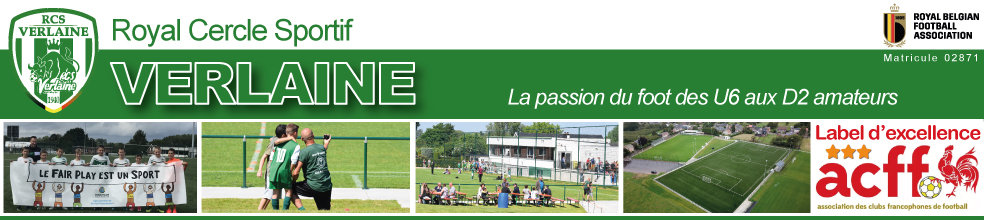 Royal Cercle Sportif de Verlaine : site officiel du club de foot de VERLAINE - footeo