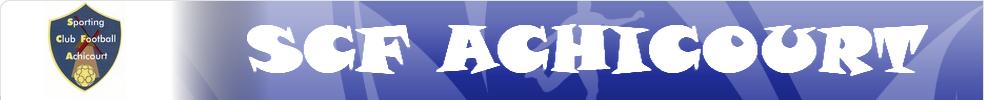 Scf Achicourt : site officiel du club de foot de Achicourt - footeo