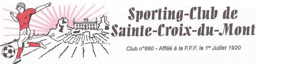 SPORTING CLUB STE CROIX DU MONT : site officiel du club de foot de STE CROIX DU MONT - footeo