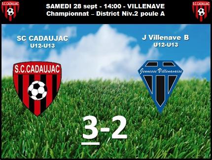28092013_Villenave_Score