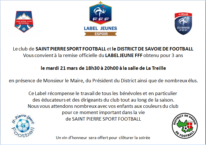 Invitation remise Label