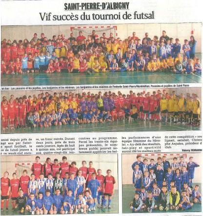 Tournoi futsal 2013 SPS