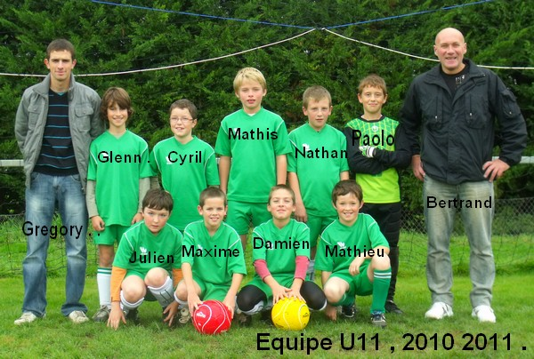 equipe U11