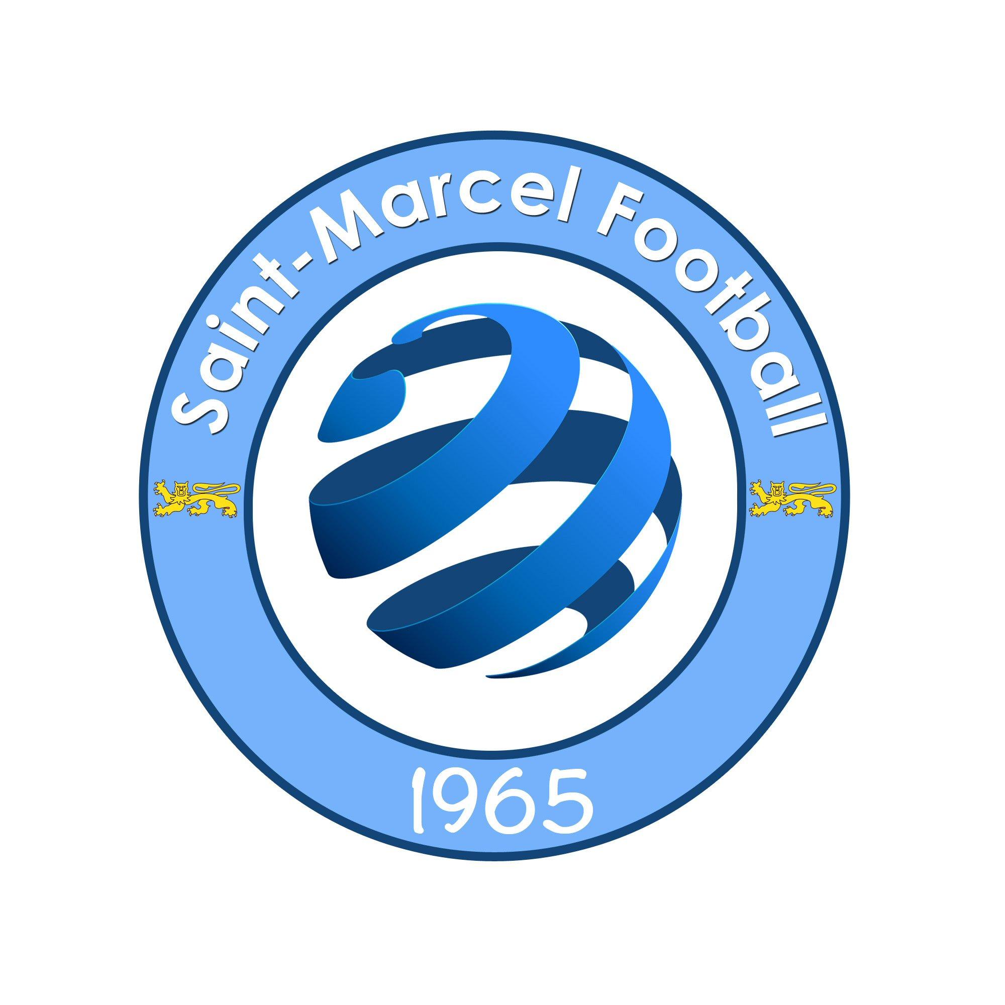 Actualit le nouveau logo de saint marcel football club football saint marcel football - Logo club foot bresil ...
