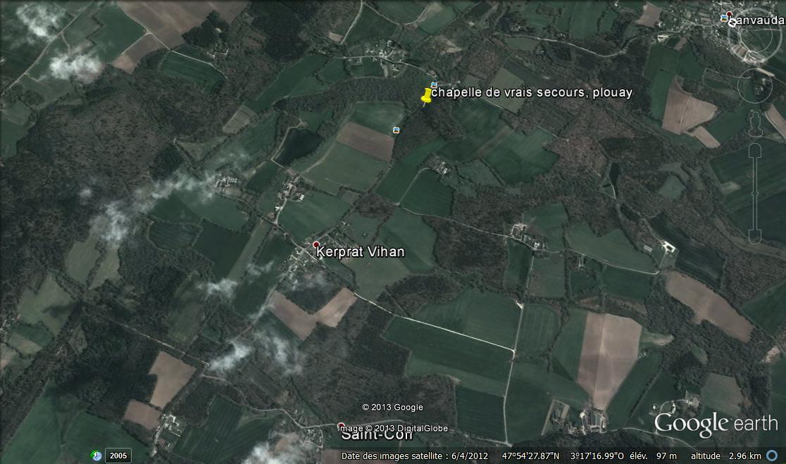 Chapelle de Vrais Secours, incluant Lanvaudan