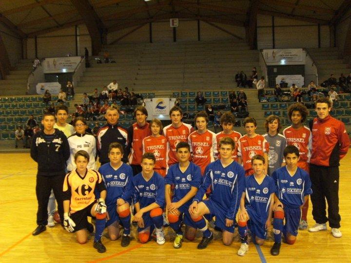 Finaliste U15 2010
