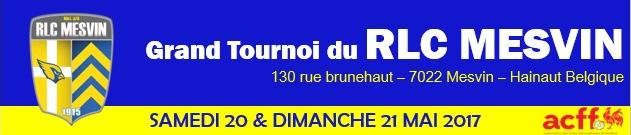 Le Grand Tournoi du RLC Mesvin : site officiel du tournoi de foot de Mesvin - footeo