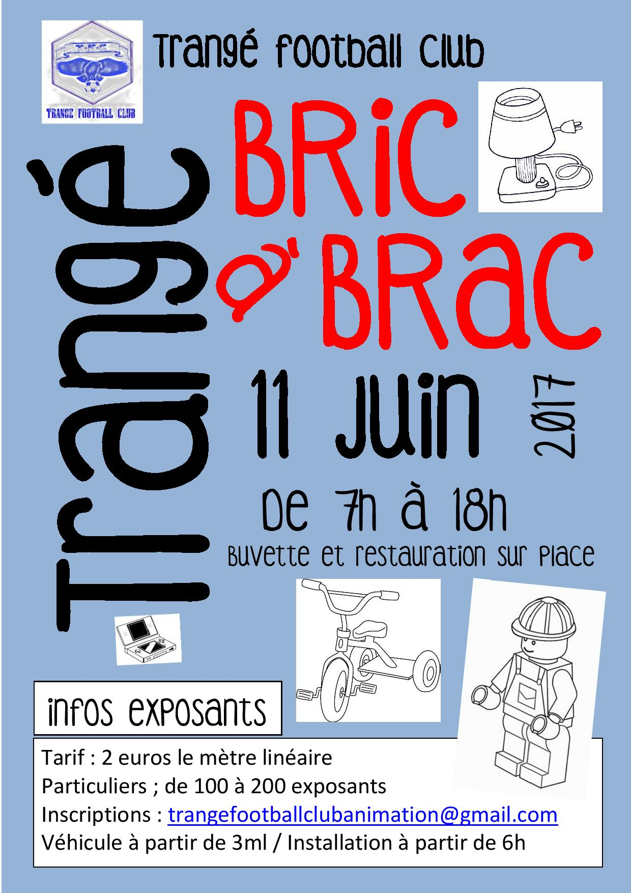 BRIC A BRAC TRANGE 2017