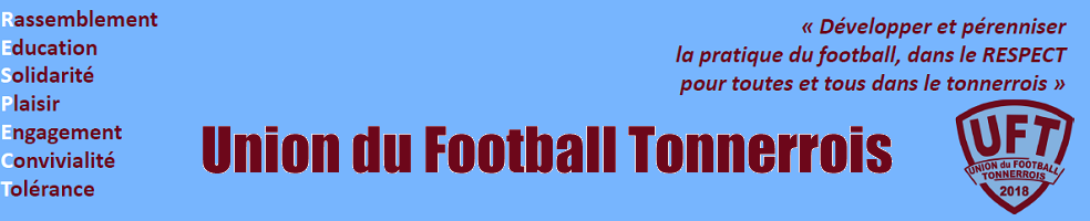 Union du Football Tonnerrois : site officiel du club de foot de TONNERRE - footeo