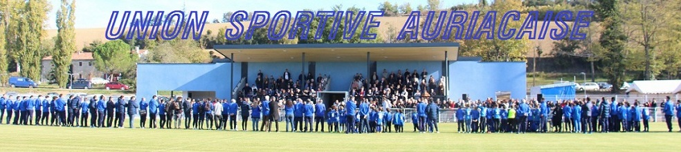 UNION SPORTIVE AURIACAISE : site officiel du club de foot de AURIAC SUR VENDINELLE - footeo