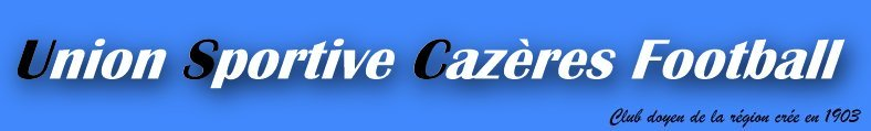 us cazeres : site officiel du club de foot de Cazeres - footeo