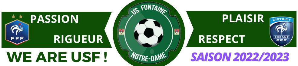 UNION SPORTIVE DE FONTAINE NOTRE DAME : site officiel du club de foot de Fontaine-Notre-Dame - footeo
