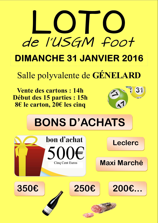 Loto du foot 31012016