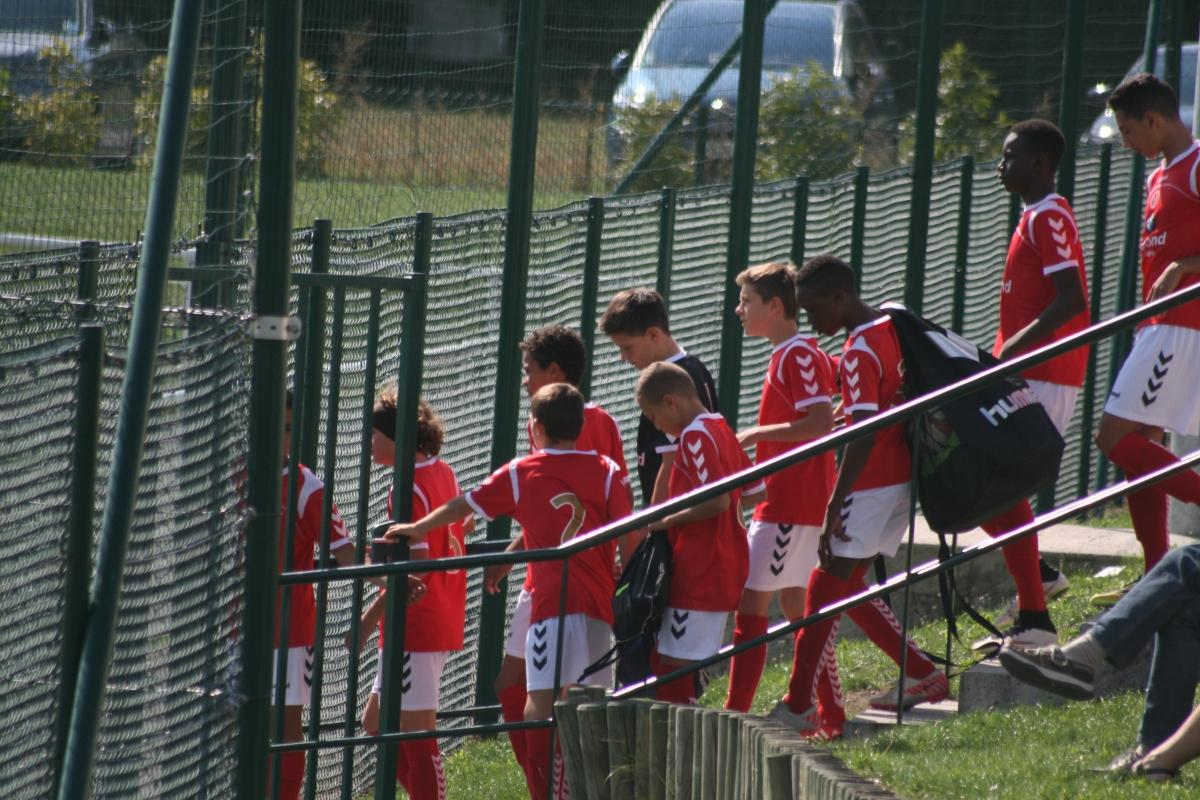 Album U14 Selection Aisne Stade De Reims Club Football Us