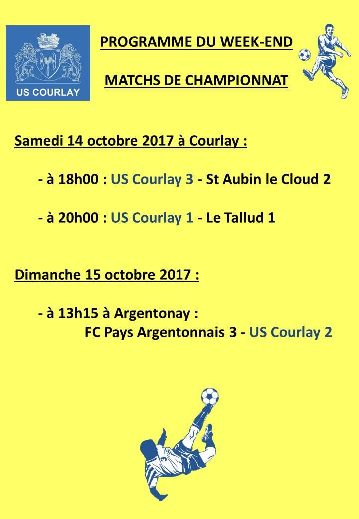 2017_10_12 Matchs_au_programme_du_week_end