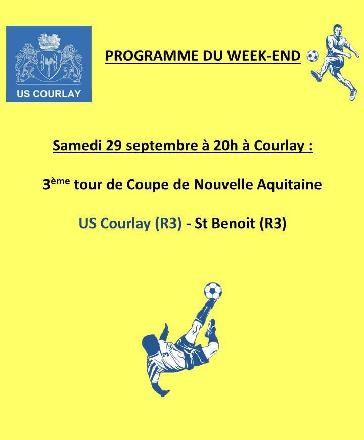 2018_09_27 Matchs_au_programme_du_week_end