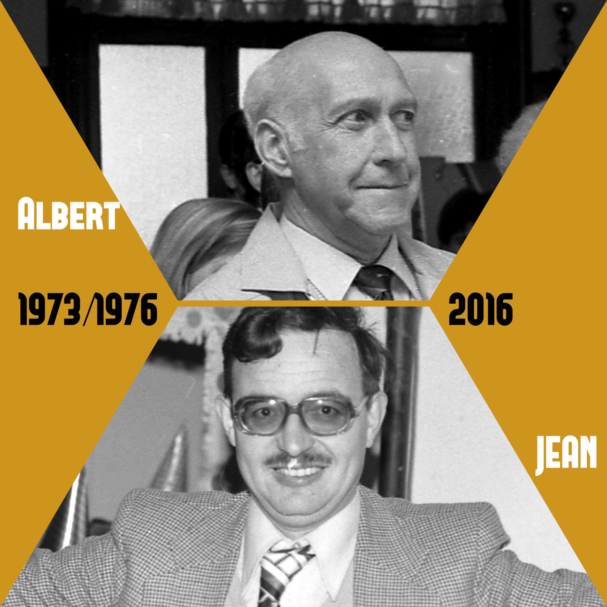 Albert et Jean les créateurs de l'USPB
