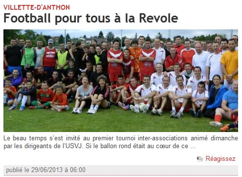 article dauphiné 26-06-2013