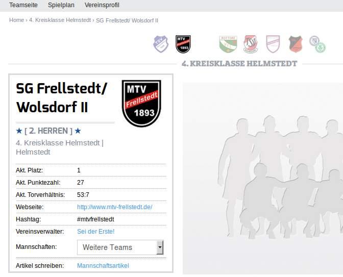 Herren - SG Frellstedt/ Wolsdorf 2